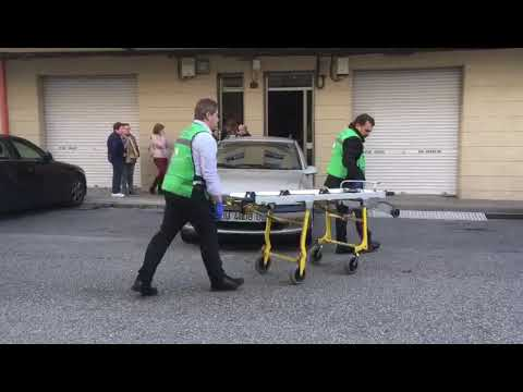 Fallece un hombre en la calle Roi López, en Ourense
