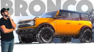 This is the 2021 Ford BRONCO and I have A LOT to say about it