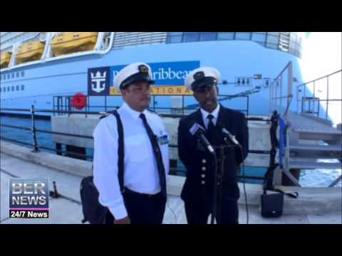 Anthem of the Seas Pilots Bermuda May 2 2016