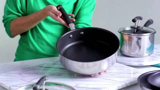 Contempo Stainless Steel Line - Pots and Pans Cookware - Circulon