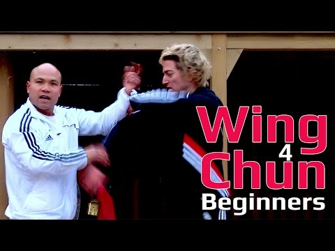 Wing Chun for beginners lesson 15: basic hand exercise/ blocking a straight punch on inside arm
