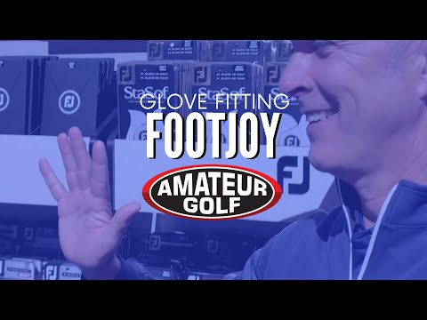 Golf Glove Fitting With FootJoy