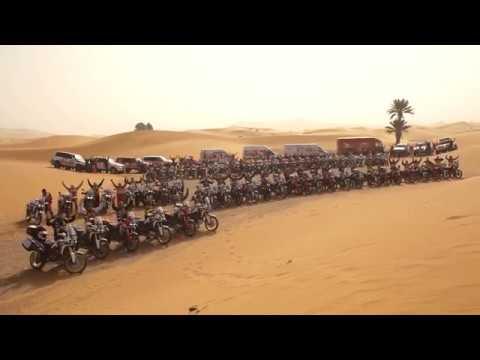¡Éxito de la I Edición del Africa Twin Morocco Epic Tour!