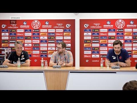 4. Spieltag   FSV - SGD   Pressekonferenz nach dem Spiel