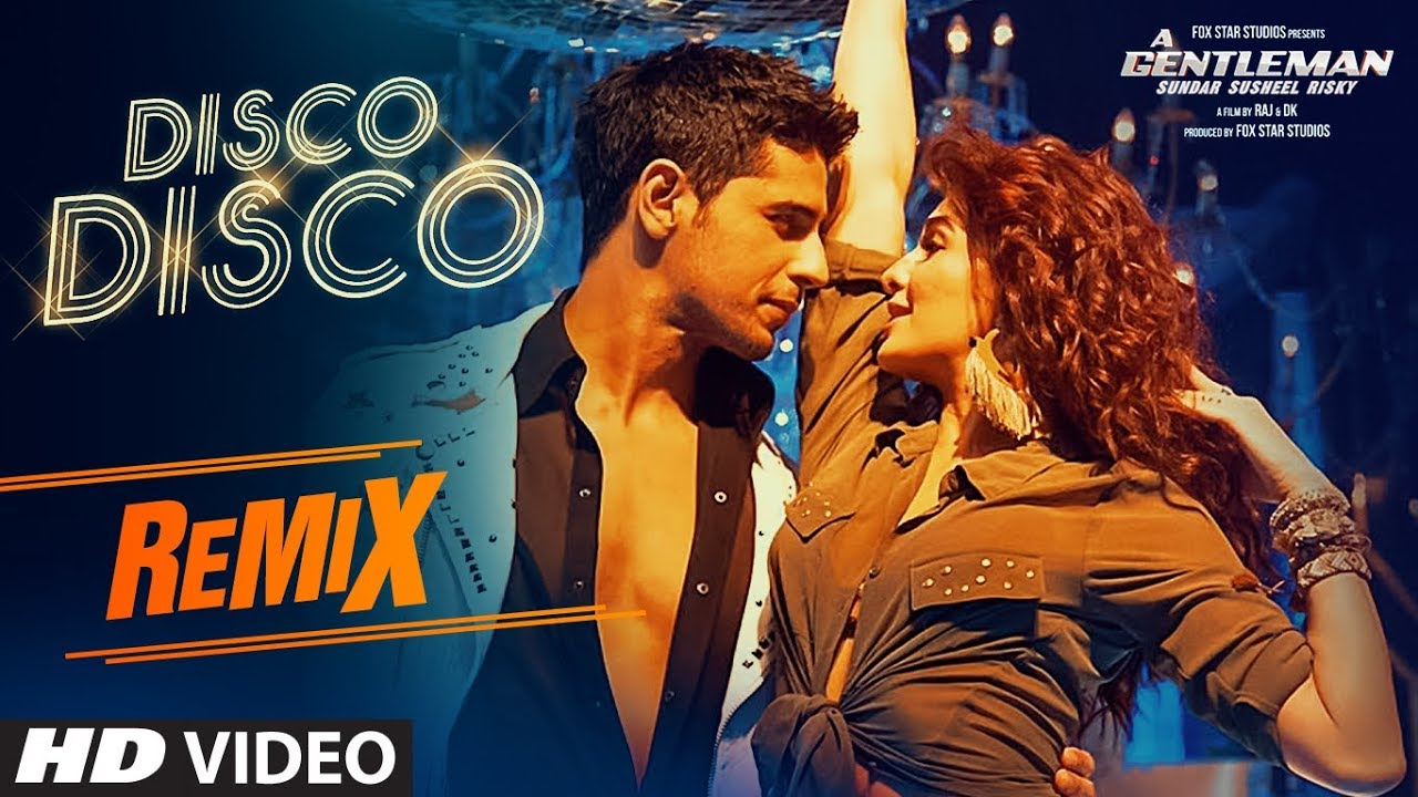 Image result for DISCO DISCO (REMIX): DJ SHADOW | A Gentleman | Sidharth, Jacqueline
