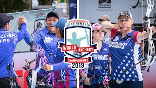 Chinese Taipei v USA – compound women team gold | 's-Hertogenbosch 2019 Hyundai World Championships