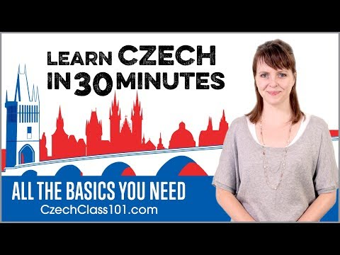 Learn Czech in 30 Minutes - ALL the Basics You Need