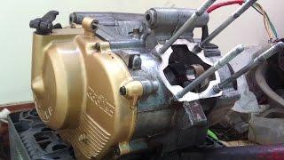 Ráp piston bạc xe 2 thì Suzuki Sport RGV 120(Ráp piston bạc xe 2 thì Suzuki Sport RGV 120: 2 Stroke Cylinder Installation Two Stroke Piston Problems Piston bạc xipo gồm 2 sợi bạc to và 1 sợi bạc quăng., 2016-06-04T10:04:12.000Z)