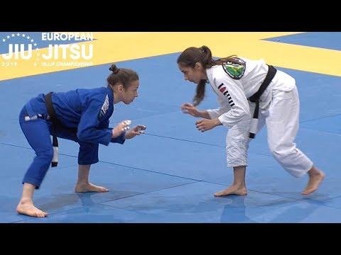 Mayssa Bastos vs Serena Gabrielli / European Championship 2019