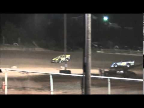 Super Late Model B-Main #2 from Ohio Valley Speedway 8/9/14.