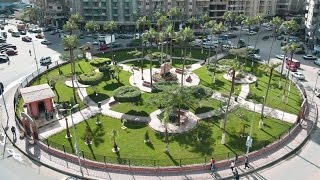 بالفيديو / اللواء : رضا فرحات محافظ الاسكندرية يفتتح حديقة السيوف