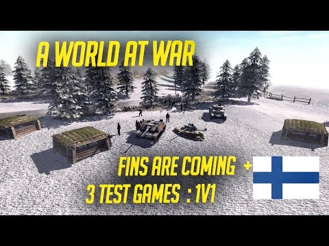 Finland & Italy coming + 3 test games - A World At War Mod