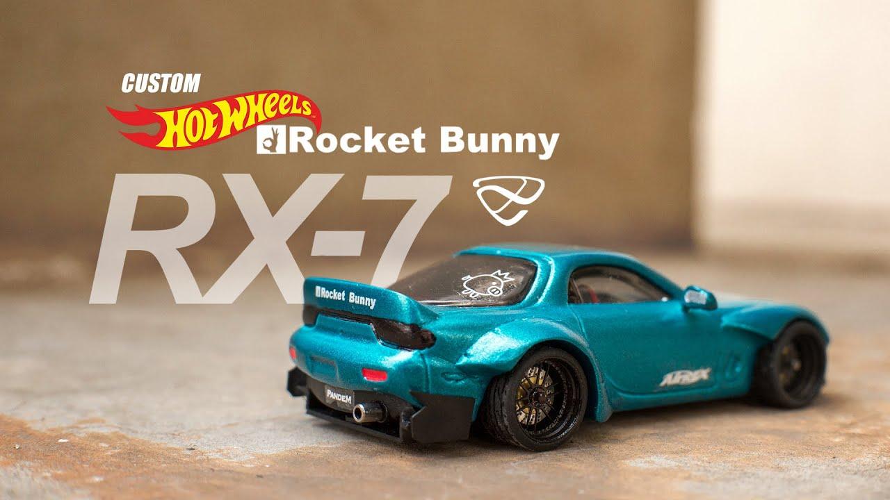 Mazda Rx 7 Rocket Bunny Custom Hot Wheels Youtube