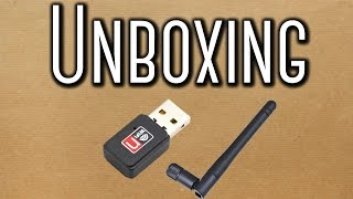 unboxing 01 adaptadores wireless usb wifi 150mbps lan b g n