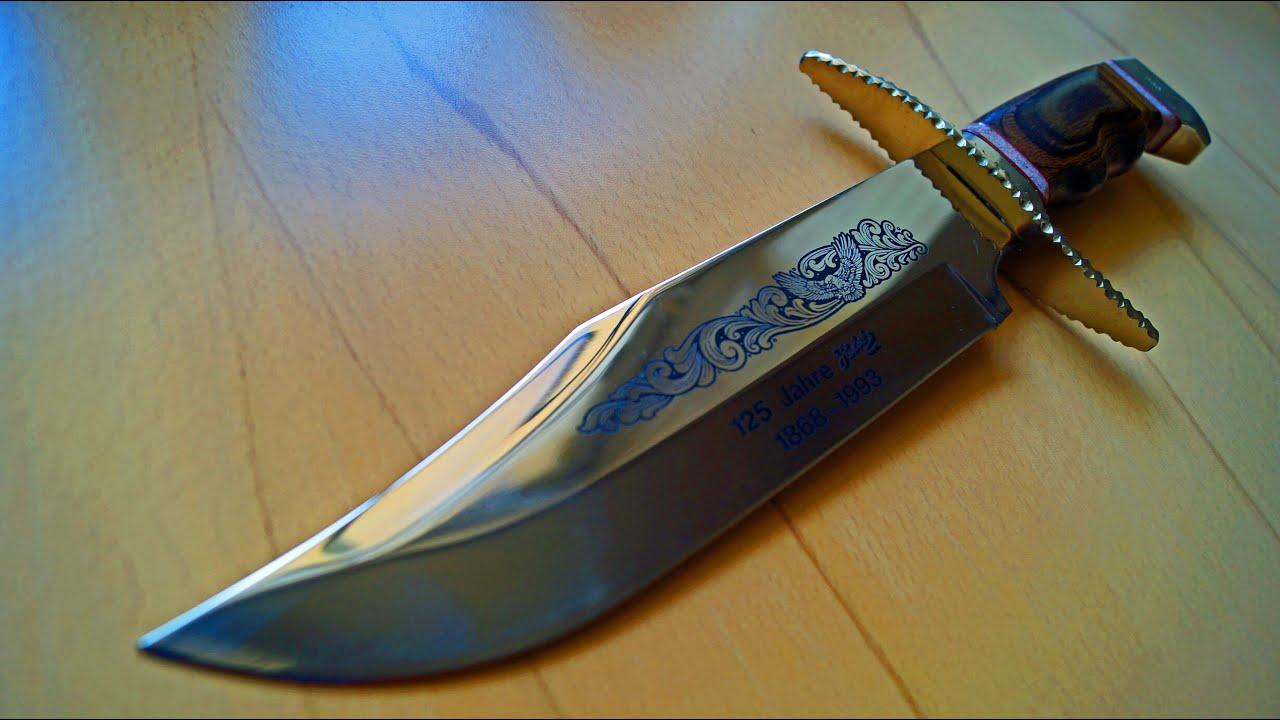 Herbertz Solingen Jubiläums Bowie Messer Anniversary Knife