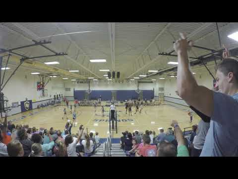 2017 Rutherford County TN MS Volleyball Finals Christiana Middle School vs. Siegel Set 9