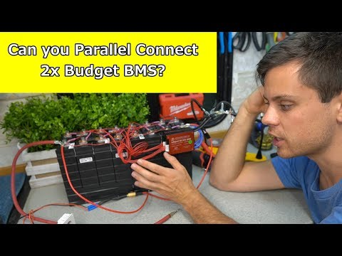 Pushing 2800 Watts With 2x Budget Friendly LiFePO4 BMS - Quick Test
