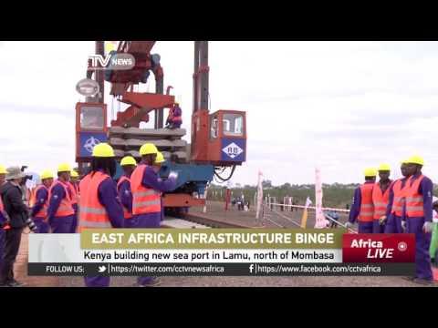 Kenya, Uganda, Tanzania, Rwanda, Ethiopia are all investing in rail
