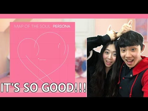 BTS Map of the Soul: Persona Full Album First Lisen - Couple Reaction
