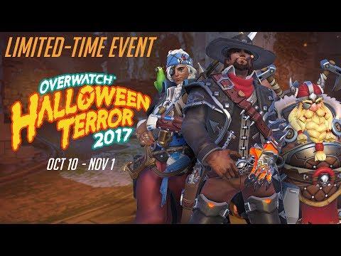 Overwatch Seasonal Event   Overwatch Halloween Terror 2017