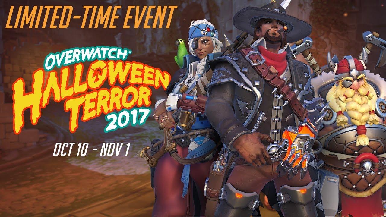 Overwatch Seasonal Event | Overwatch Halloween Terror 2017 - YouTube