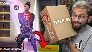COMO COLETAR as SKINS do HIP-HOP do FREE FIRE!! PRESENTE da GARENA!!! thumbnail