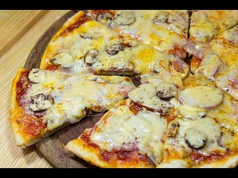 Рецепт самой простой пиццы в домашних условиях