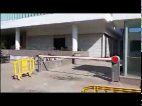 Boom barrier with RFID  by: Tithi Technology, Ahmedabad