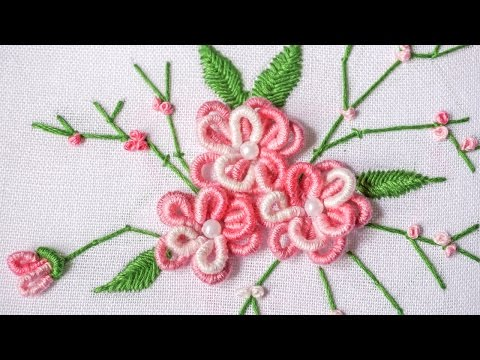 DIY Projects    Hand Embroidery Design   HandiWorks #90