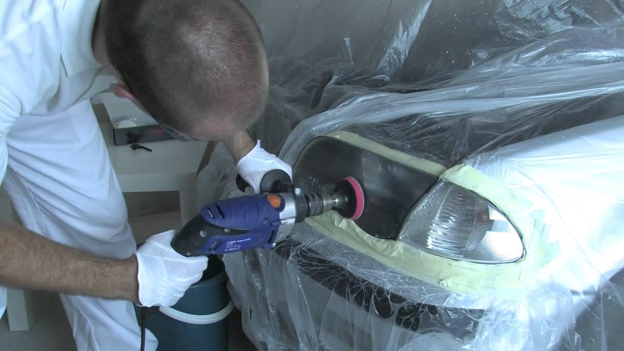 fafb2e7ad6b3f Renovácia a leštenie svetlometov svetiel sadou CAREX. - YouTube