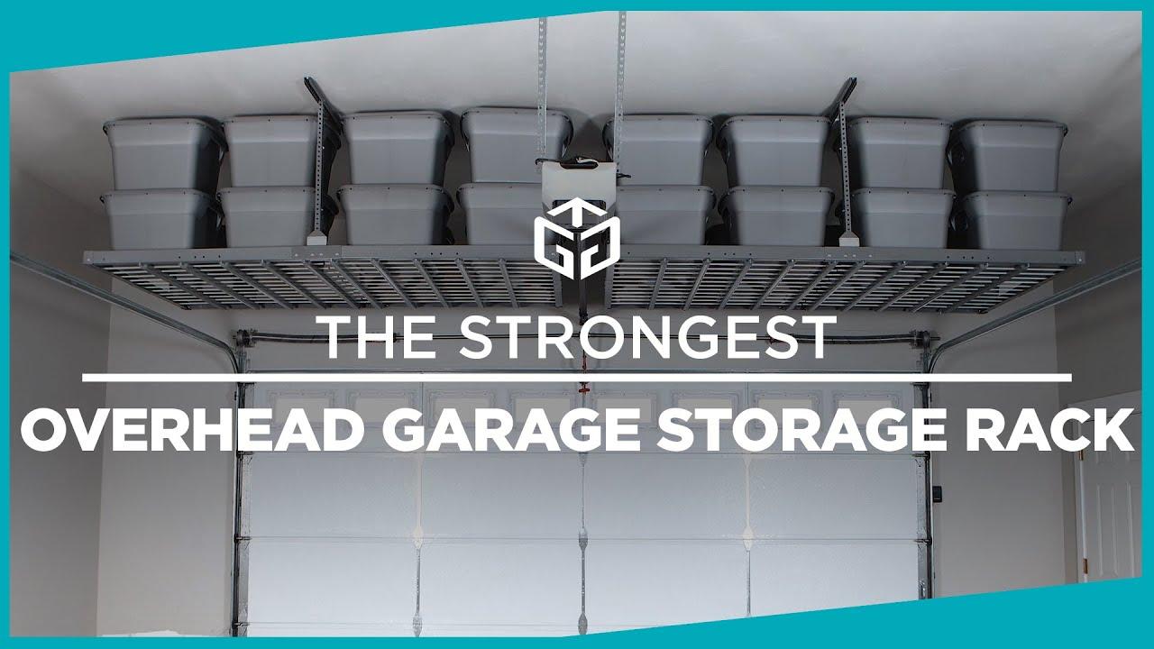 The Strongest Overhead Garage Storage, Garage Ceiling Storage Racks