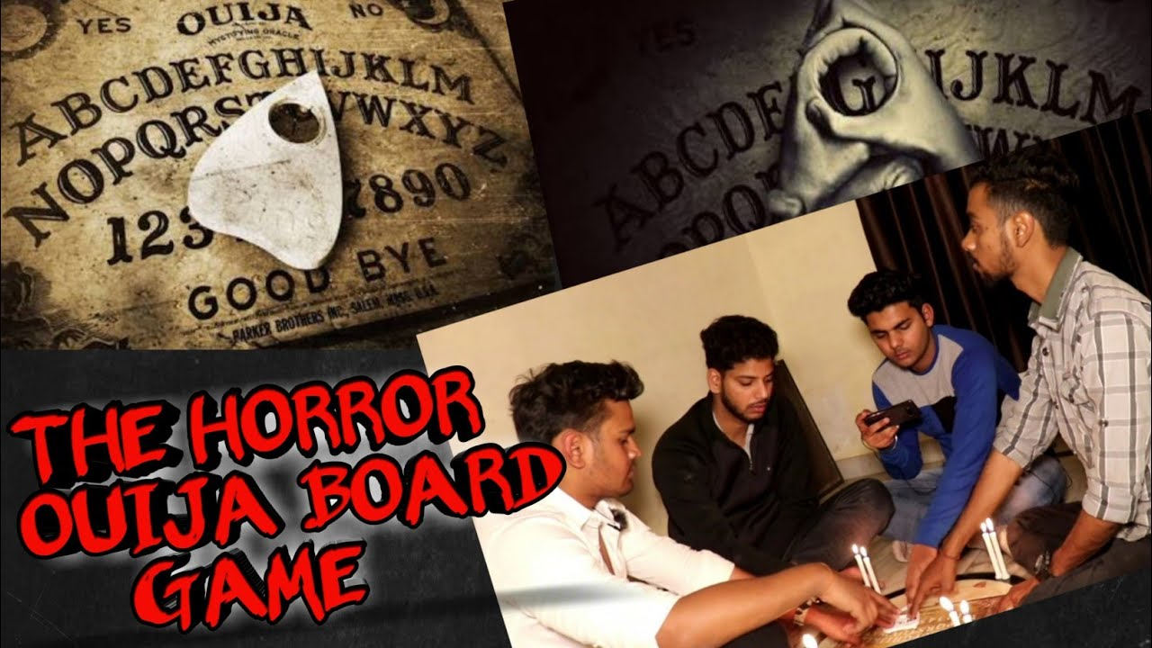 Indians Playing Horror Ouija Board Game/Most Scary Game/Playing Ouija Board- The Paranormal Game