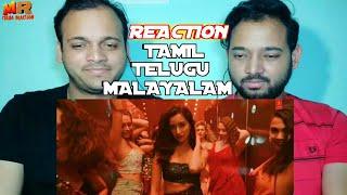 REACTION Psycho Saiyaan Saaho Tamil Telugu Malayalam Prabhas Shraddha K Maha Reaction
