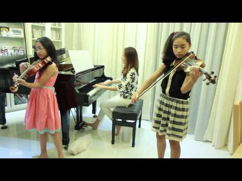 Meditation (from Thais) - Note & Pin - 2 Violins & Piano