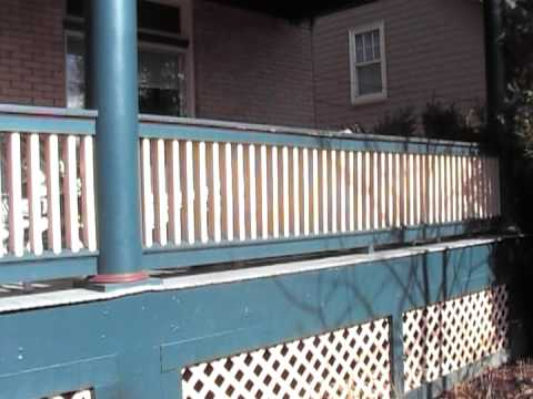 Victorian Porch Railing How To Youtube