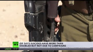 Battle Within: IDF suicides double, Israel claims no connect to war