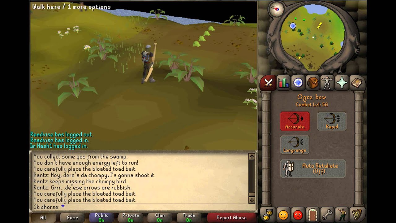 runescape how to catch chompy