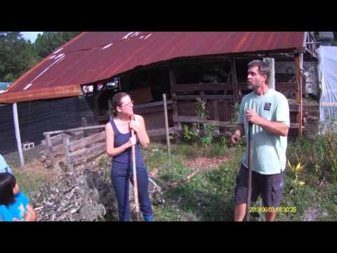 Permaculture Paradise:  John & Mary Build a Hugelkultur!