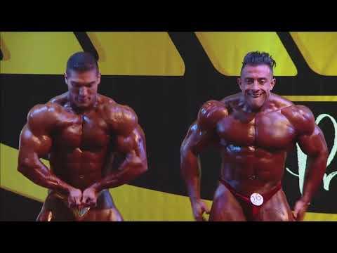 Men Bodybuilding Class 3 WNT Pro Card 2018