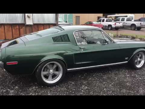 1968 S-Code 390 Mustang GT Fastback for sale