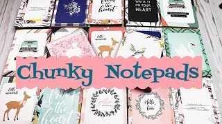 Craft Fair Idea #8:  Chunky Notepads | Using Dollar Tree notepads | 2018