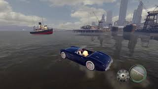 Mafia 2: Wandering Empire Bay on water