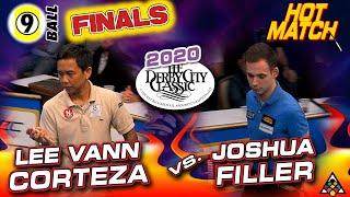 HOT MATCH FINALS: Lee Vann CORTEZA vs. Joshua FILLER - 2020 DERBY CITY CLASSIC 9-BALL FINALS