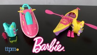 Barbie Camping Fun Water Ride & Accessories from Mattel