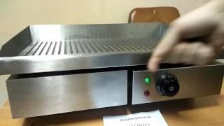 видео Профессиональные блинницы Hurakan