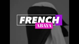 French Abaya by Jus collections | French Khimar, French Khimar Zipper, French Khimar Overhead
