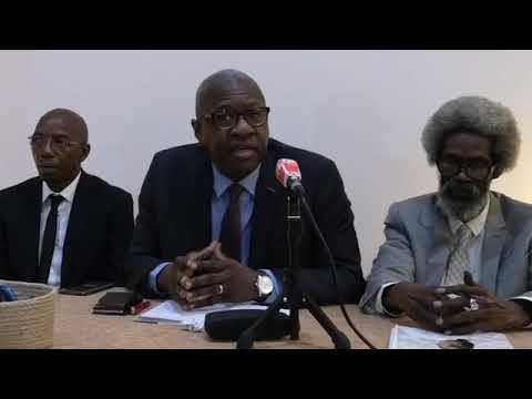 Conférence de presse  des avocats de Khalifa Sall à Paris