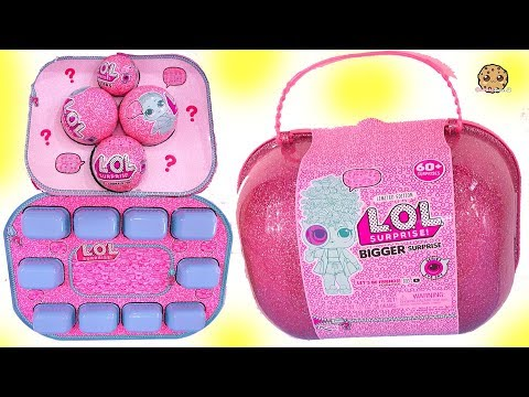 LOL BIGGER Surprise Capsule Over 60 Surprises !!!! Exclusive Big Sisters Blind Bags