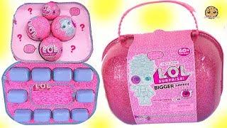 LOL BIGGER Surprise Capsule Over 60 Surprises !!!! Exclusive Big Sisters Blind Bags thumbnail