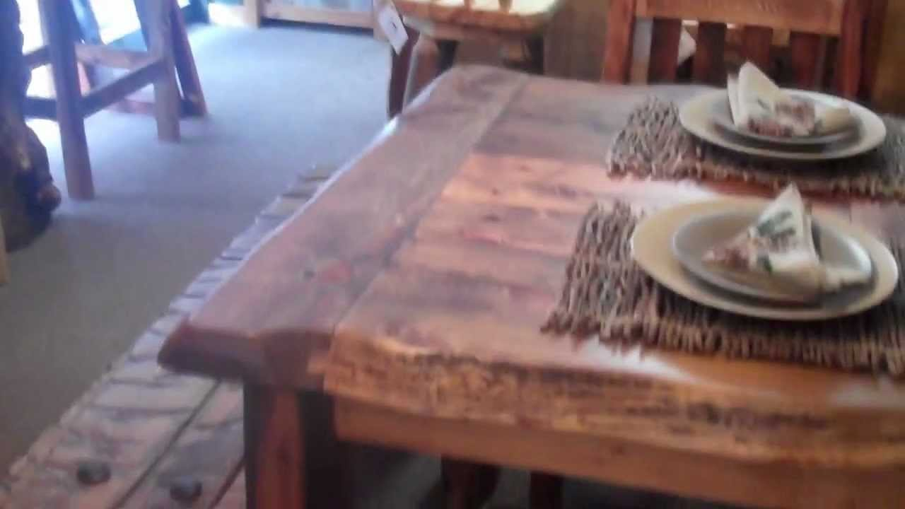 Reclaimed Wood Table - Rustic Aspen Dining Table - Barnwood Dining ...